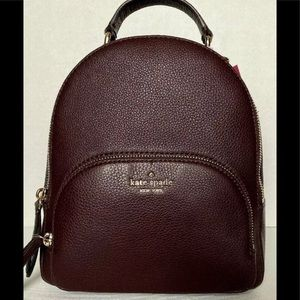 Kate Spade Jackson Med Backpack Chocolate Cherry